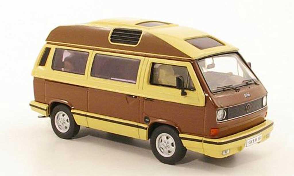 Volkswagen T3 A 1/43 Premium ClassiXXs a Dehler-Profi marron/beige miniature