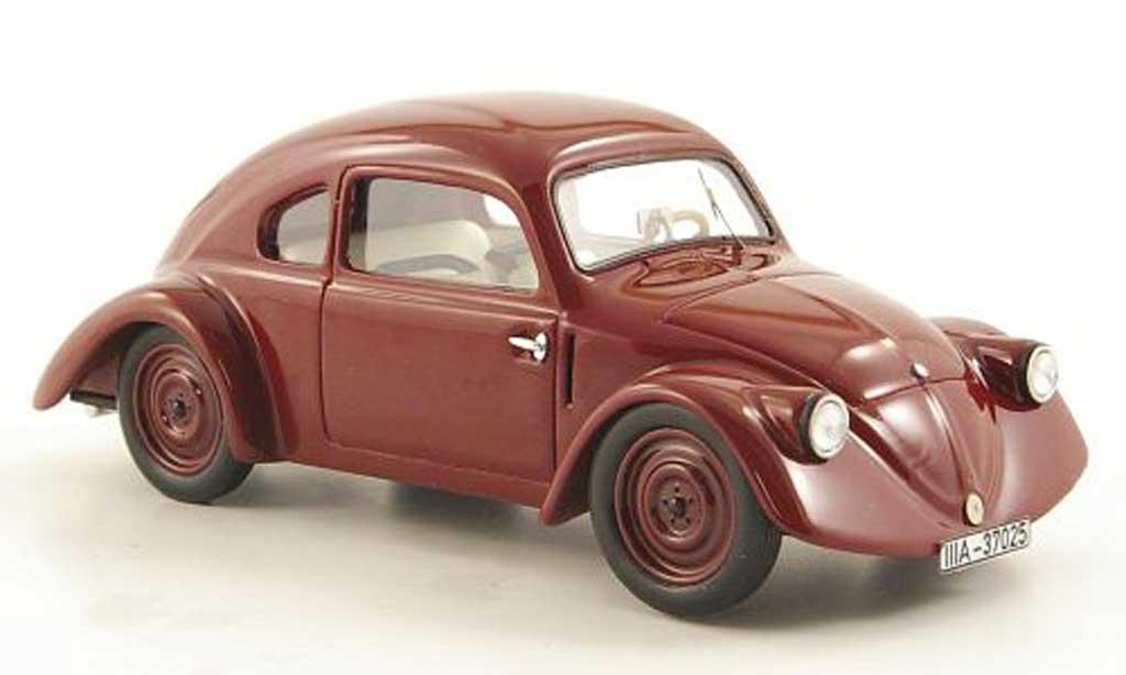 Volkswagen Kafer 1/43 Premium ClassiXXs Prougeotyp V30 rouge miniature