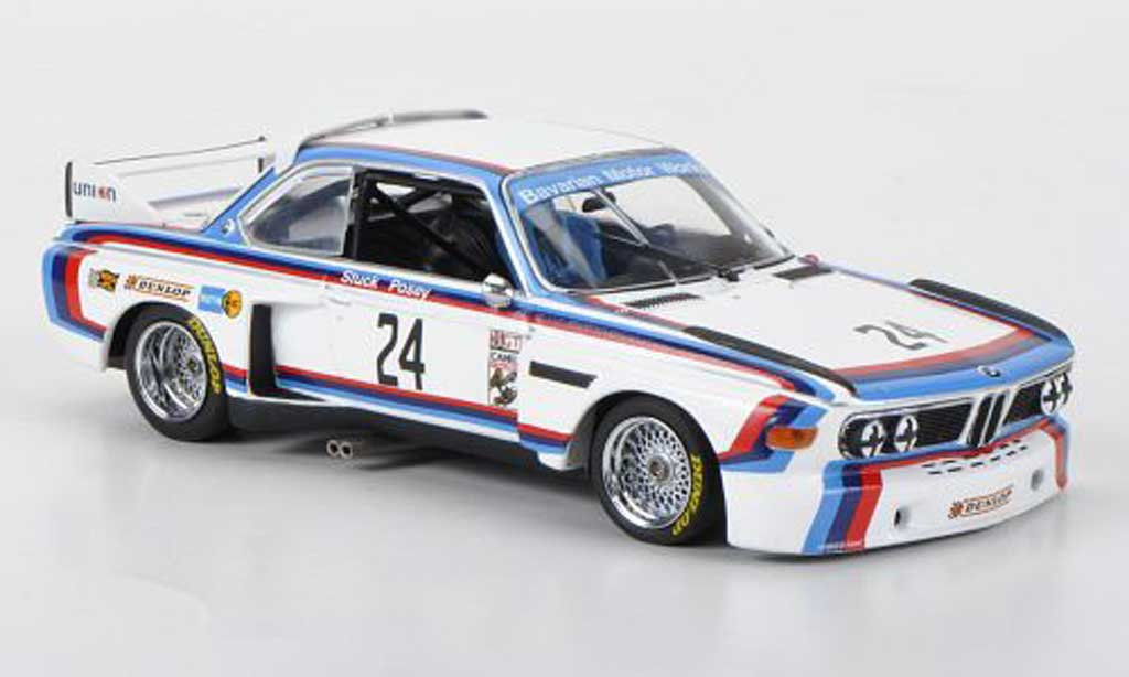 Bmw 3.5 CSL 1/43 Minichamps IMSA No.24 Team North America H.-J.Stuck / S.Posey 12h Sebring 1975 diecast