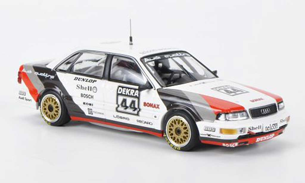 Audi V8 1/43 Minichamps Team SMS H.J.Stuck DTM 1990 miniature