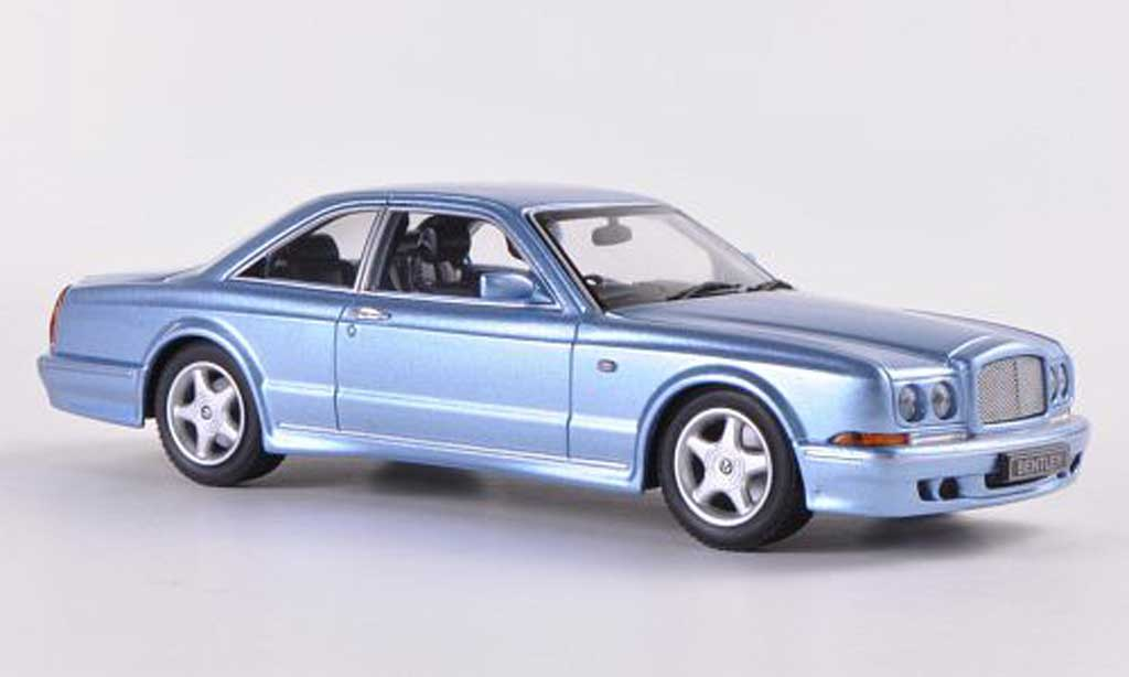 Bentley Continental T 1/43 Minichamps bleu RHD 1996 miniature