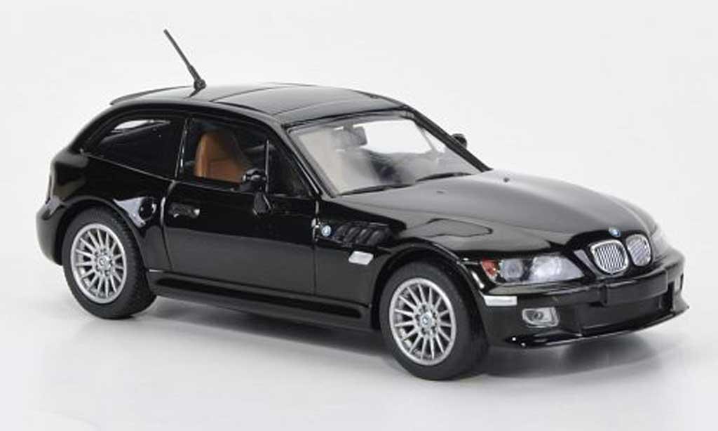 Bmw Z3 coupe 1/43 Minichamps black 2001 diecast model cars