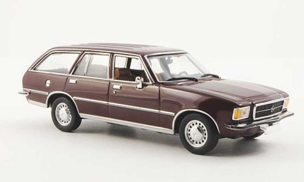 Opel Rekord 1/43 Minichamps Rekord D Caravan rouge 1975