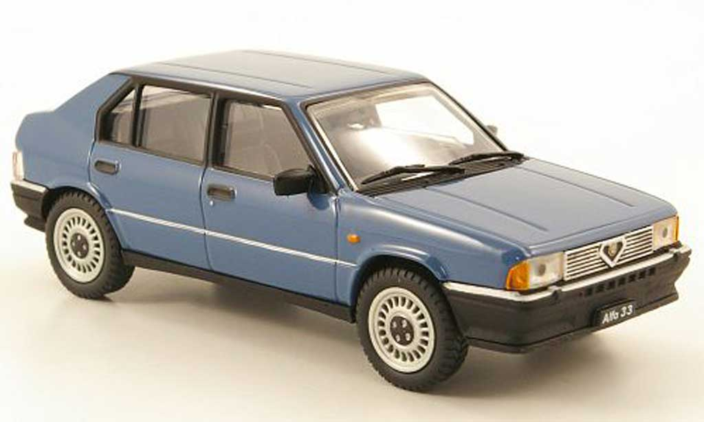 Alfa Romeo 33 1.3 1/43 Pego bleu 1983 miniature