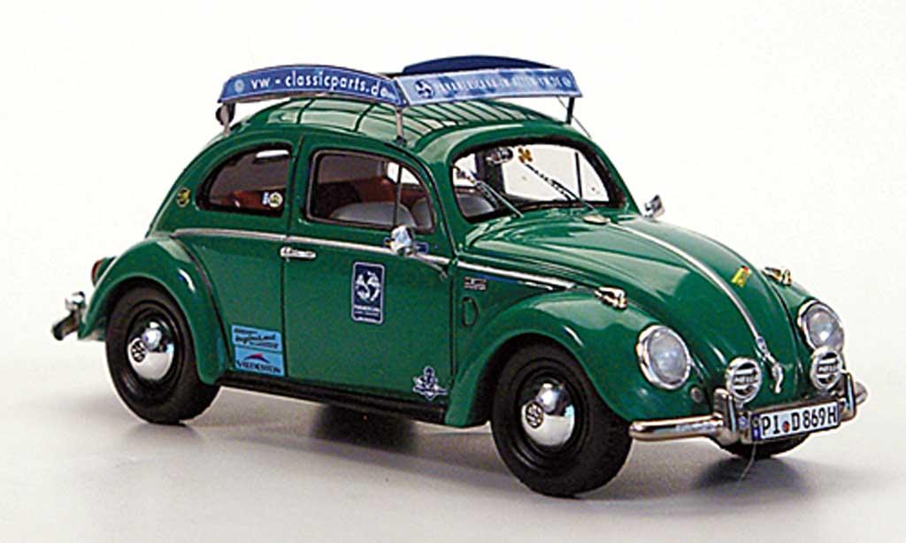 Volkswagen Kafer 1/43 Minichamps 1200 ''Die Erbse'' T.Schmitz/D.Dahmer Brezel1952 miniature