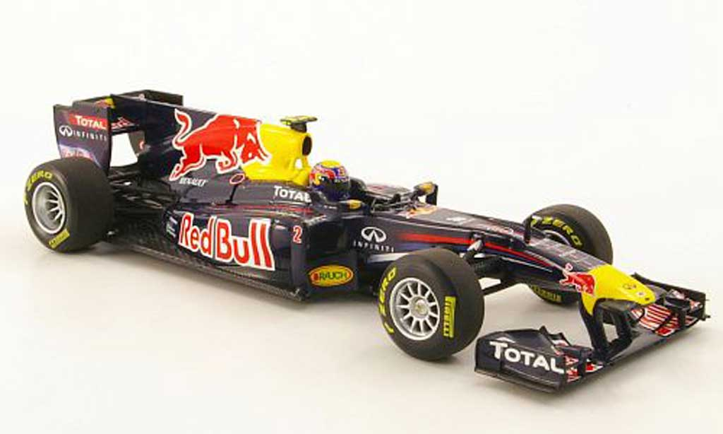 Renault F1 2011 1/43 Minichamps Red Bull No.2 M.Webber Prasentation miniature