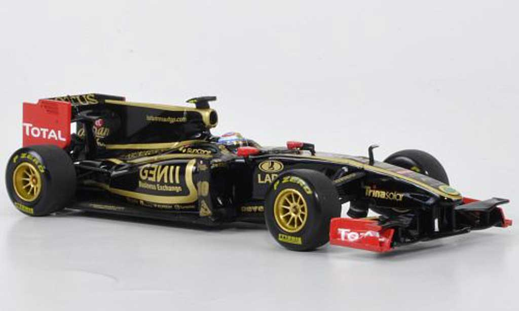 Lotus F1 2011 1/43 Minichamps Renault GP No.10 V.Petrov Showcar miniature