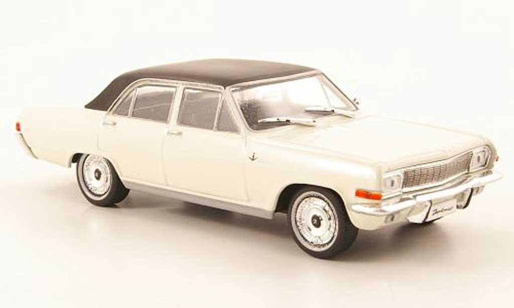 opel diplomat a weiss schwarz ohne magazin 1968 mcw modellauto 1 43 kaufen verkauf. Black Bedroom Furniture Sets. Home Design Ideas
