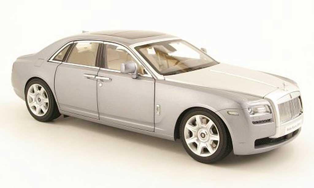 Rolls Royce Ghost 1/18 Kyosho (H22) grise/grise metallisee miniature
