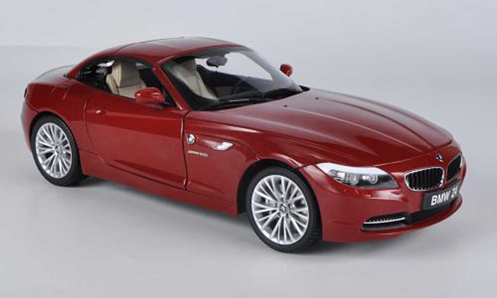 Bmw Z4 E89 1/18 Kyosho sDrive 35i red diecast model cars