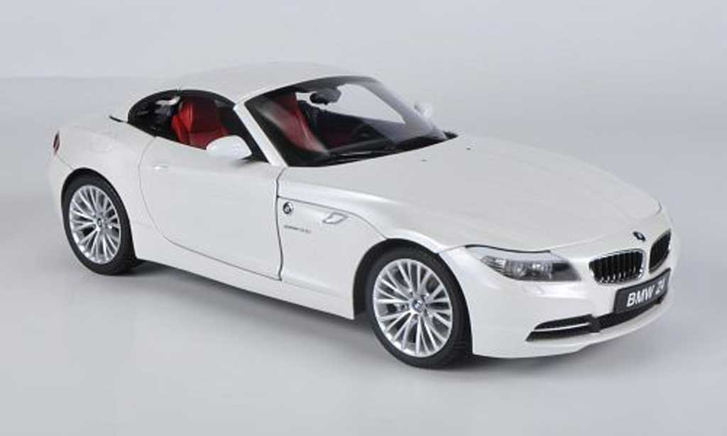 Bmw Z4 E89 Sdrive 35i E89 White Kyosho Diecast Model Car