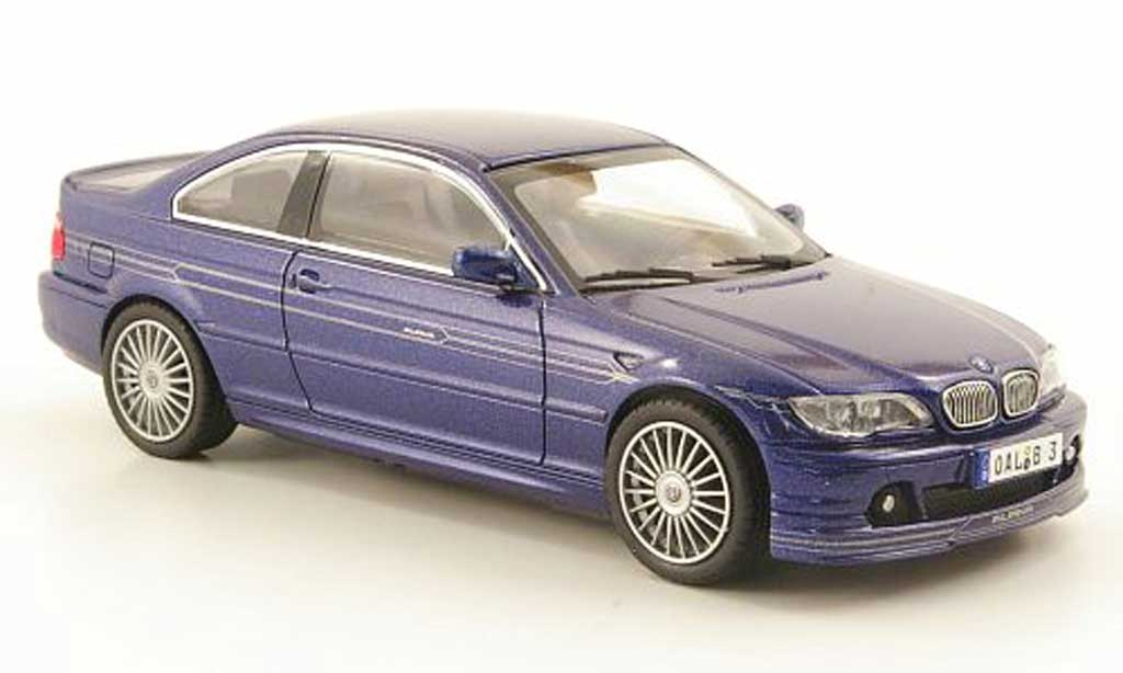 Bmw Alpina B3S 1/43 Kyosho Coupe (E46) bleu diecast model cars