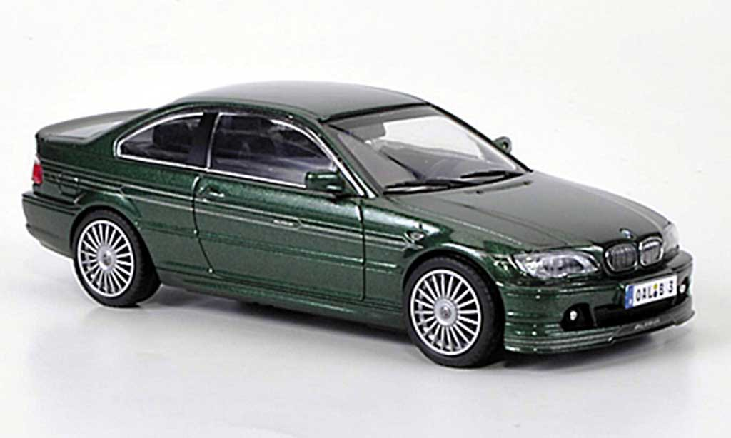 Bmw Alpina B3S 1/43 Kyosho Coupe (E46) grun diecast model cars
