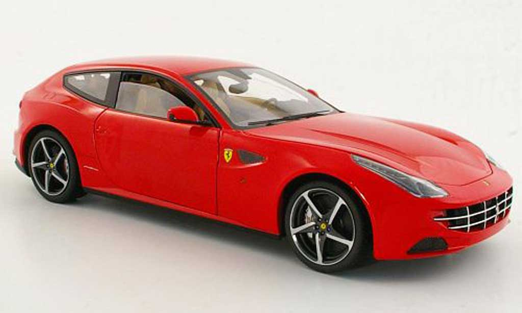 Ferrari FF 1/18 Hot Wheels Elite rouge 2011 miniature