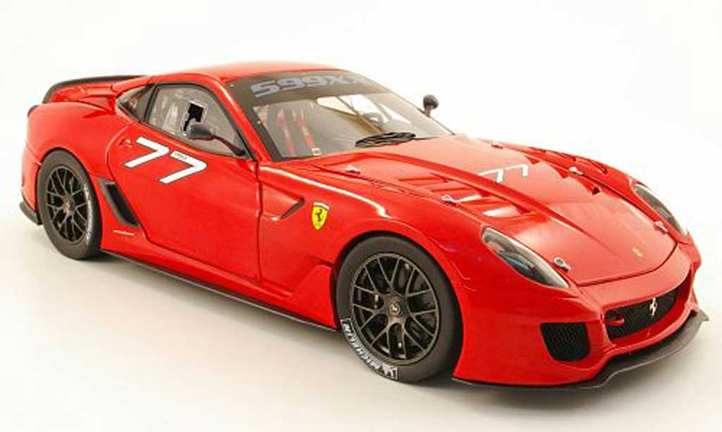 Ferrari 599 XX 1/18 Hot Wheels no.77 modellautos