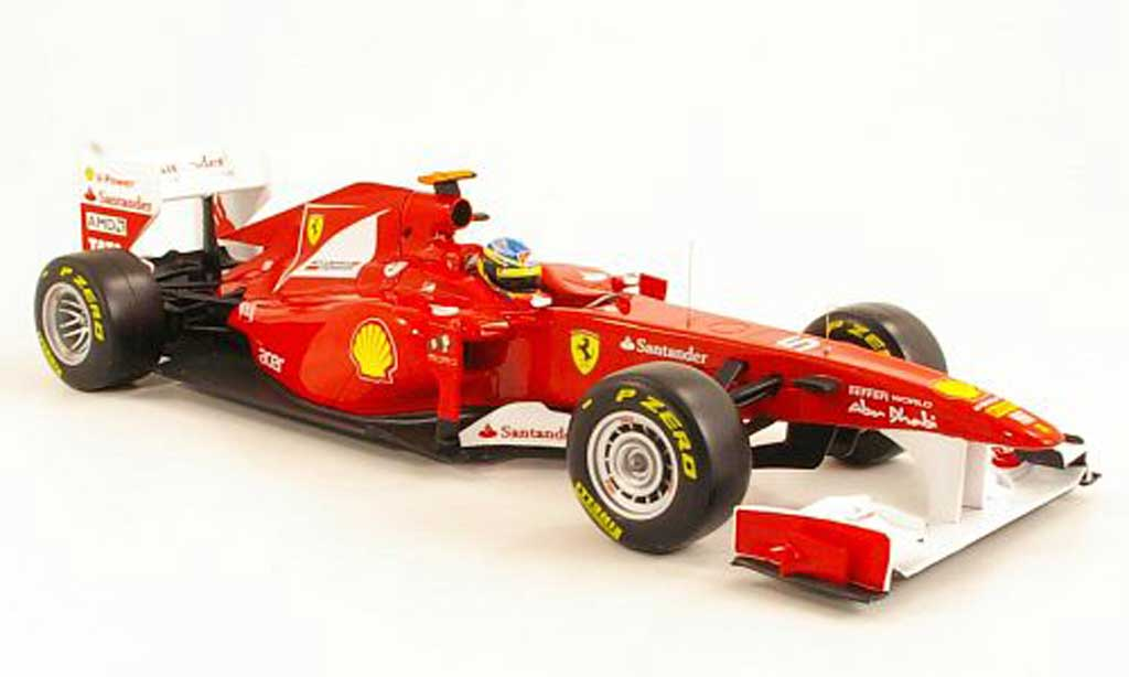 Ferrari F1 1/18 Hot Wheels 150 Italia No.5 F.Alonso F1 Saison 2011 F1 RACING LINE miniature