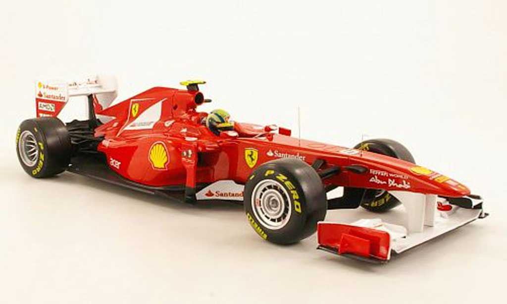 Ferrari F1 1/18 Hot Wheels 150 Italia No.6 F.Massa F1-Saison 2011 miniature