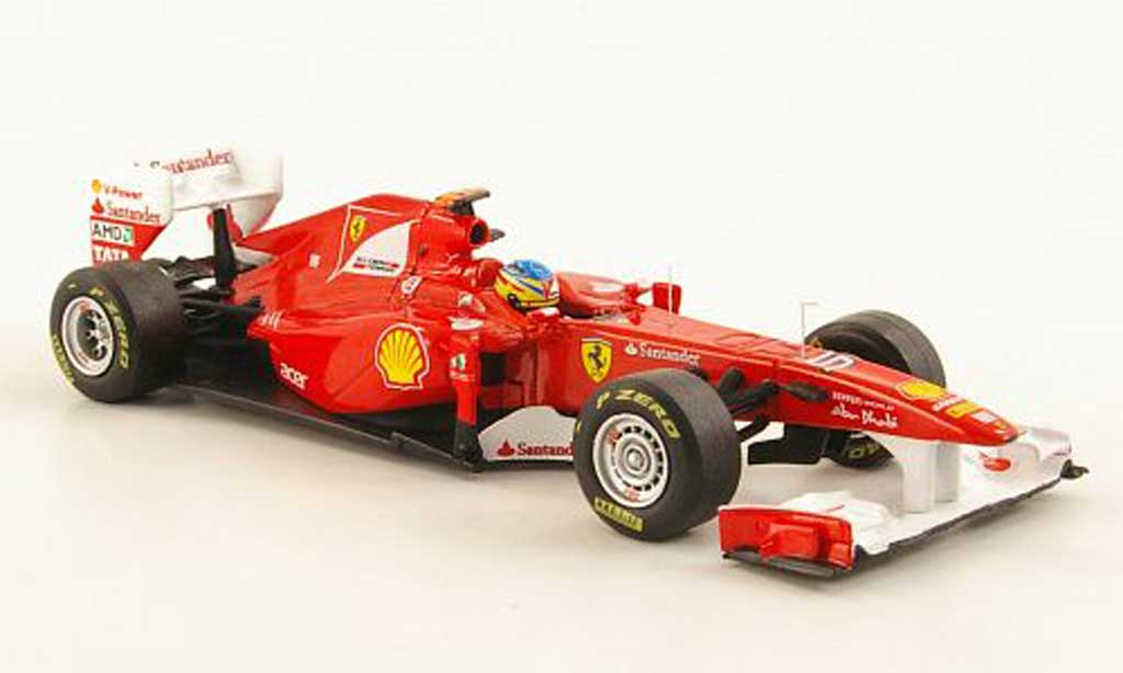 Ferrari F1 2011 1/43 Hot Wheels Elite 150? Italia No.5 F.Alonso F1 Saison miniature