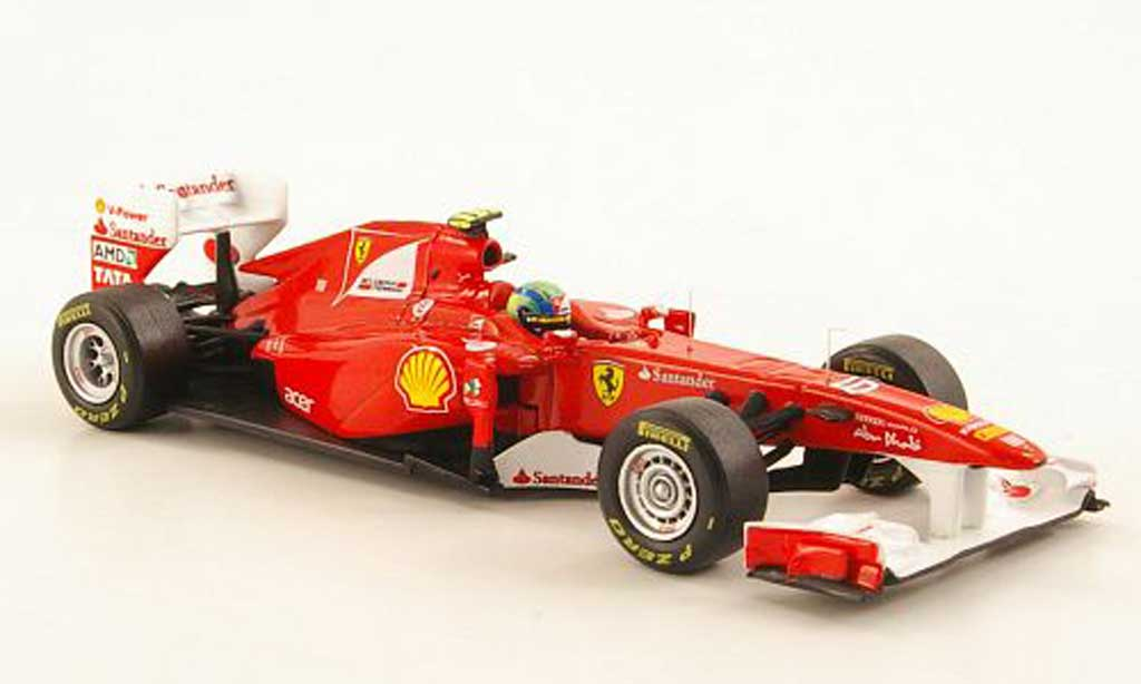 Ferrari F1 2011 1/43 Hot Wheels Elite 150? Italia No.6 F.Massa F1 Saison (Elite) miniature