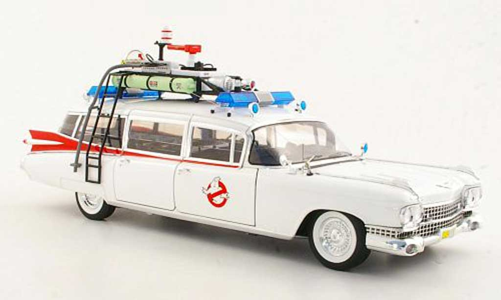 Cadillac Ghostbusters 1/18 Hot Wheels Elite Ecto 1 - 1959 miniature