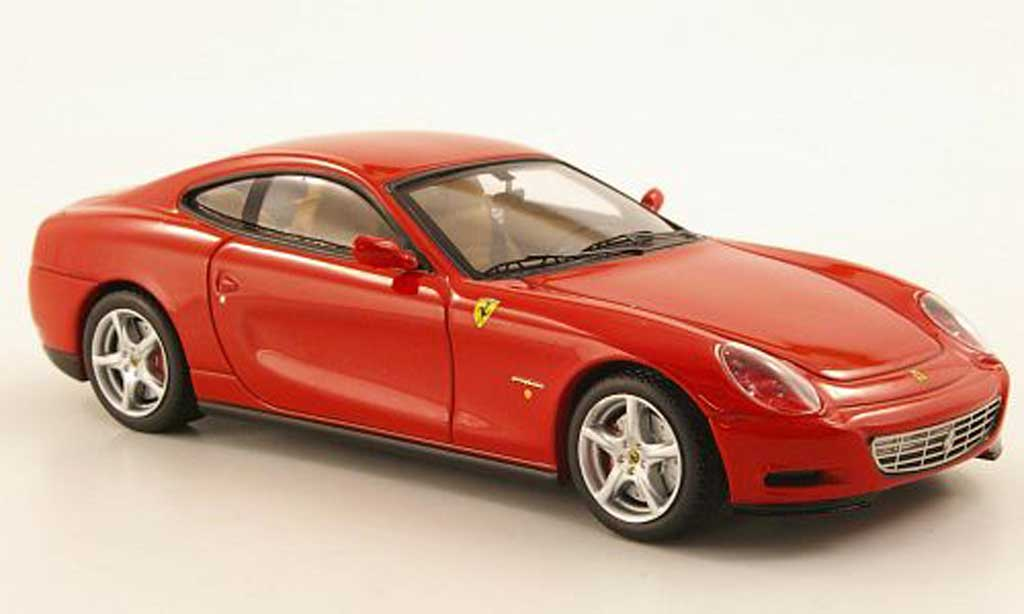 Ferrari 612 1/43 Hot Wheels Elite Scaglietti rouge (Elite) miniature