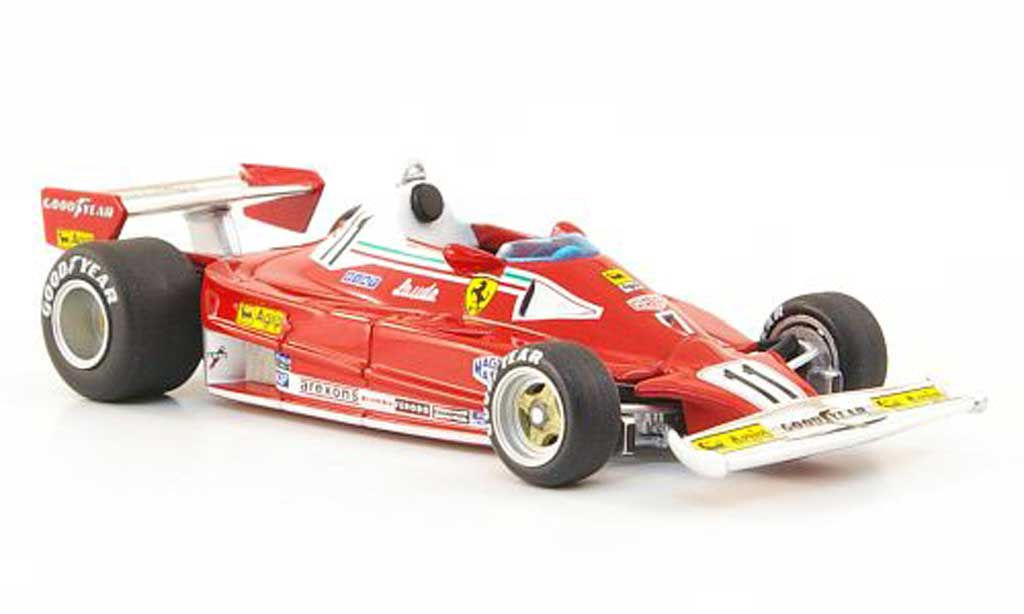 Ferrari 312 T2 1/43 Hot Wheels Elite No.11 N.Lauda GHolland (Elite) 1977 miniature