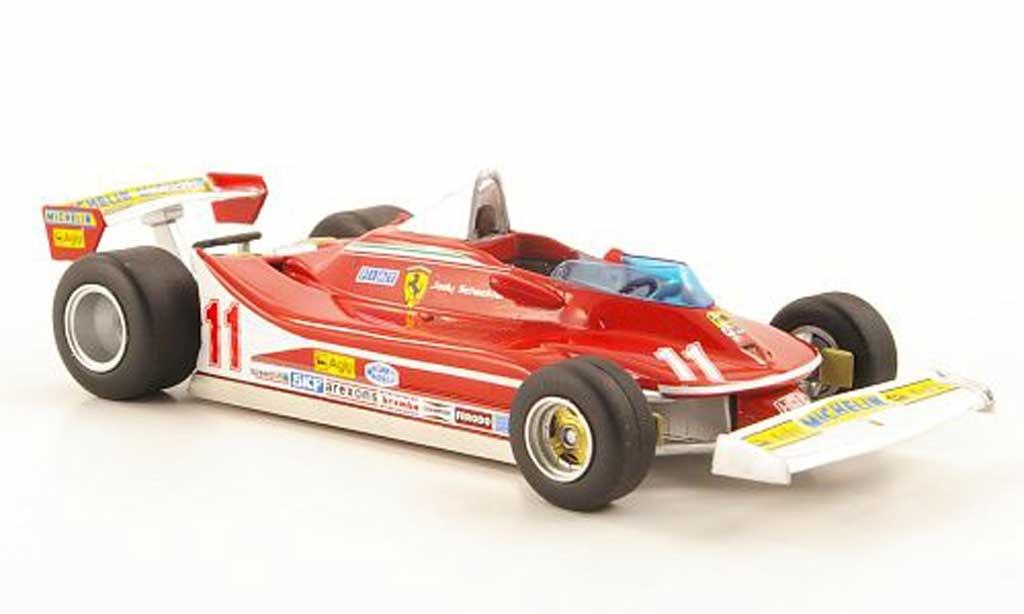 Ferrari 312 T4 1/43 Hot Wheels Elite No.11 J.Scheckter GItalien (Elite) 1979 modellino in miniatura