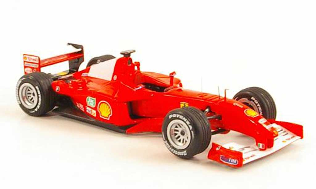 Ferrari F1 F2001 1/43 Hot Wheels Elite No.1 M.Schumacher GP Ungarn (Elite) miniature