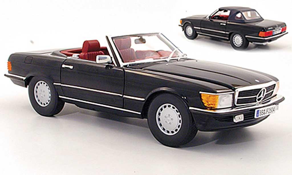 mercedes 300 sl r107 schwarz 1978 norev modellauto 1 18 kaufen verkauf modellauto online. Black Bedroom Furniture Sets. Home Design Ideas