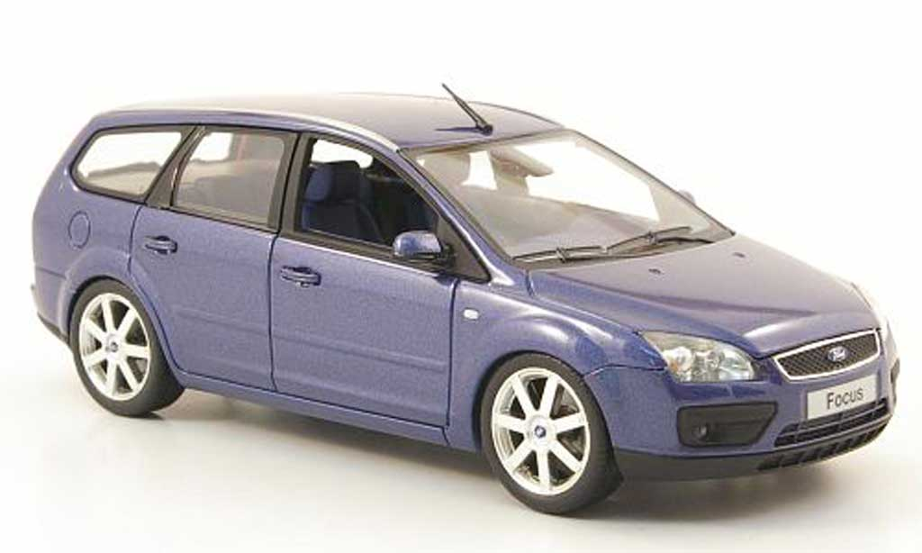 ford focus turnier blau 2006 minichamps modellauto 1 43 kaufen verkauf modellauto online. Black Bedroom Furniture Sets. Home Design Ideas