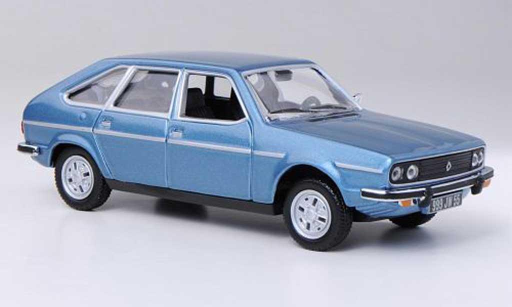 Renault 30 1/43 Norev TS bleu 1978 miniature