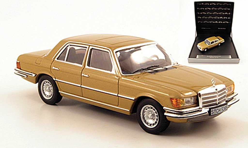 Mercedes 450 SEL 1/43 IXO SEL 6.9 (W116) beige 1975 miniature