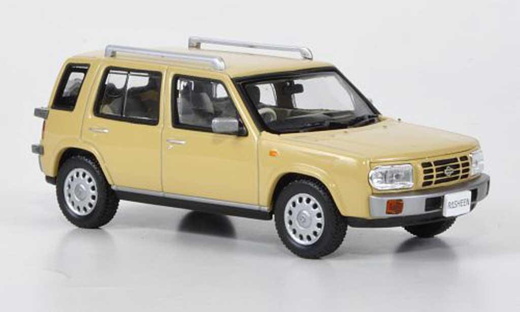 Nissan Rasheen 1/43 Norev Typ II beige RHD 1994 miniature