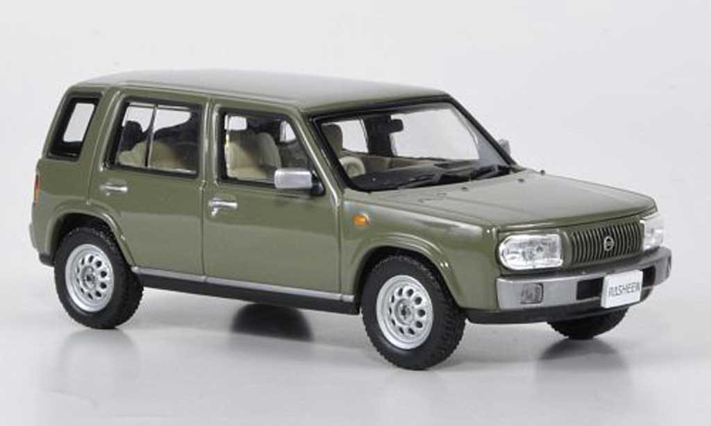 Nissan Rasheen 1/43 Norev Typ I grisegrun RHD 1997 miniature