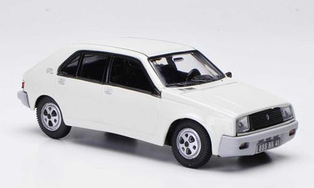 Renault 14 GTL 1/43 Norev blanche 1979 miniature