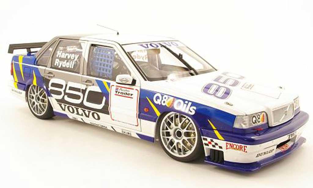 Volvo 850 Sedan 1/18 Autoart btcc prasentationsmodell 1995 miniature