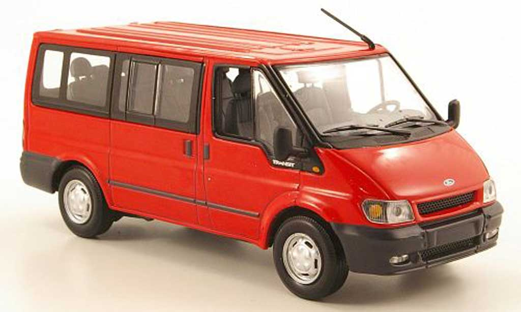 Ford Transit 1/43 Minichamps Tourneo rouge 2001 miniature