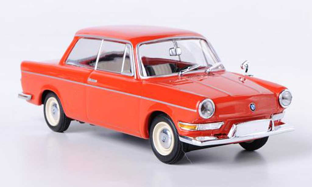 Bmw 700 1/43 Minichamps L rouge 1960 miniature