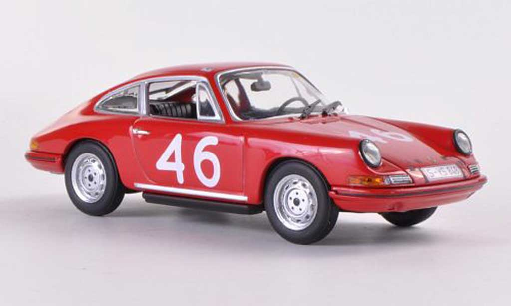 Porsche 911 S 1/43 Minichamps No.46 B.Cahier / J.-C.Killy Targa Florio 1967 miniature