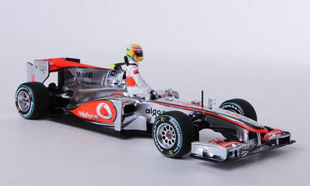 McLaren F1 2011 1/43 Minichamps 2011 Mercedes MP4-25 No.2 Vodafone L.Hamilton Qualifikation GP Kanada 2011 miniature