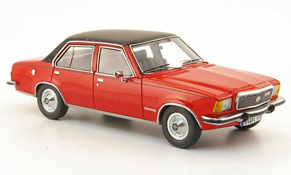 Opel Commodore B 1/43 Neo rouge/noire 1973 miniature