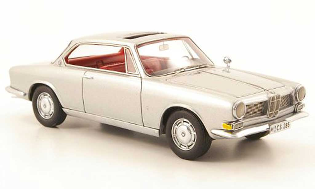 Bmw 3200 1/43 Neo CS Bertone grey 1961 diecast model cars