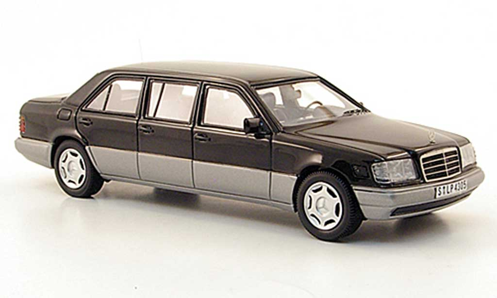 Mercedes 250 E250 Diesel (V124) black W124-Langversion 1990 Neo. Mercedes 250 E250 Diesel (V124) black W124-Langversion 1990 miniature 1/43
