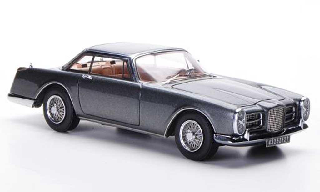 Facel Vega II 1963 1/43 Neo 1963 grise miniature