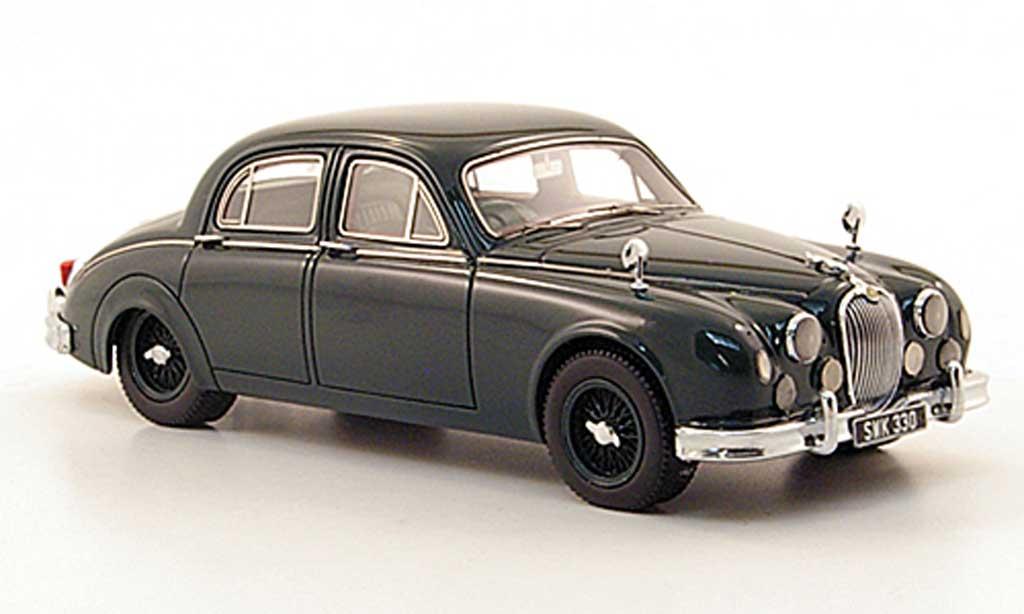 Jaguar MK 1 1/43 Neo 3.4 noire-vert  1955 miniature