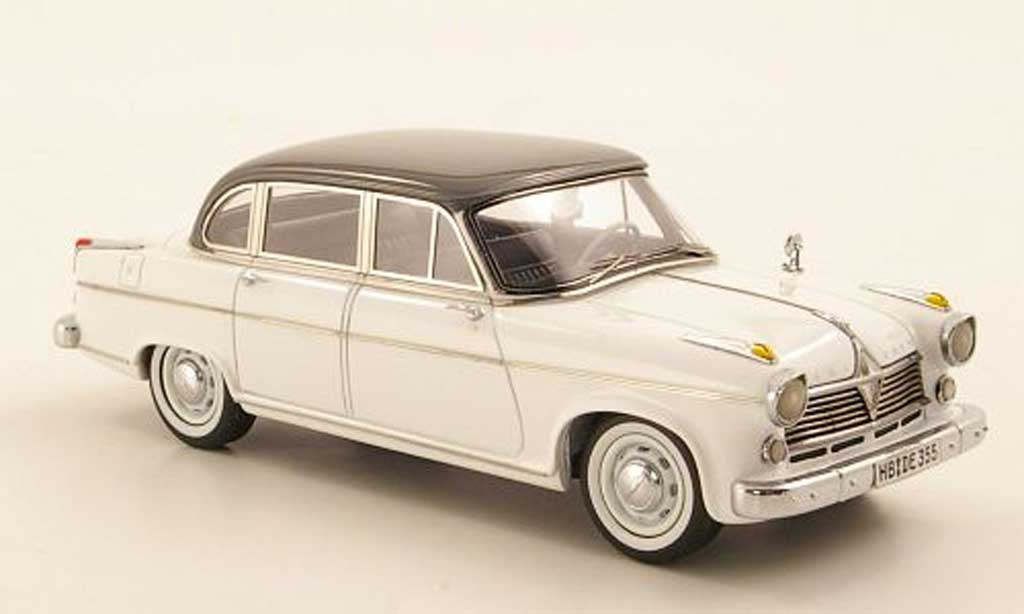 Borgward Hansa 2400 1/43 Neo Pullman blanche/grise 1955 miniature