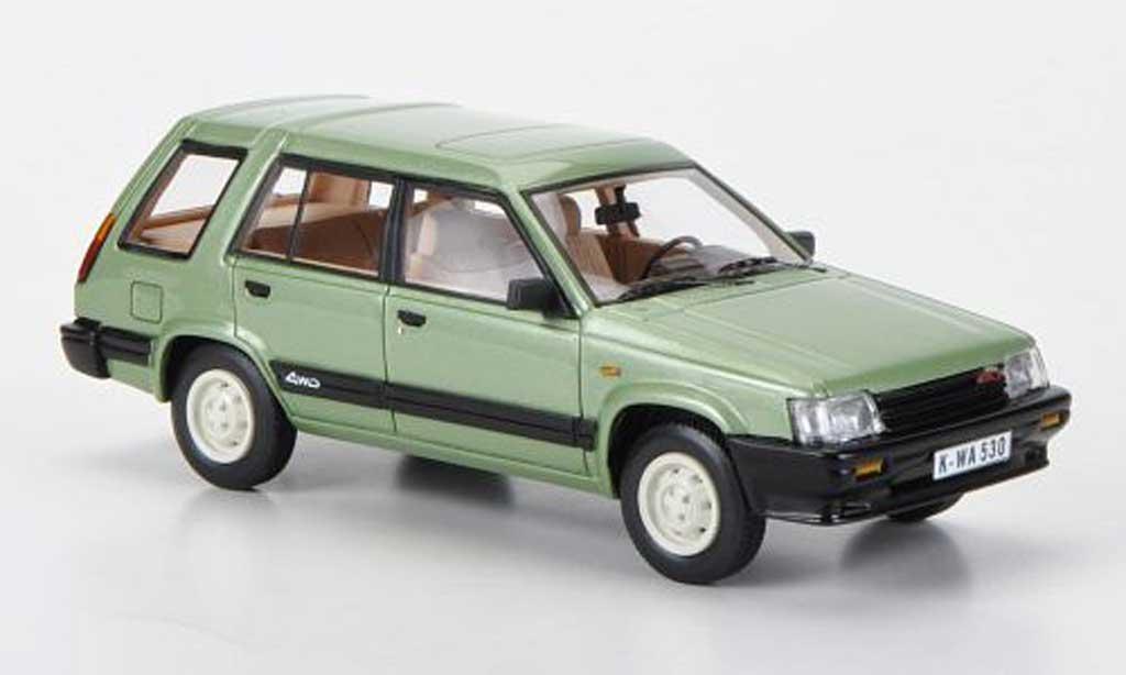 Toyota Tercel 1/43 Neo 4WD verte 1983 miniature