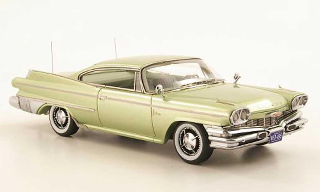 Dodge Polara 1/18 Neo 2-Door Hardtop Coupe la chaux  1960 miniature