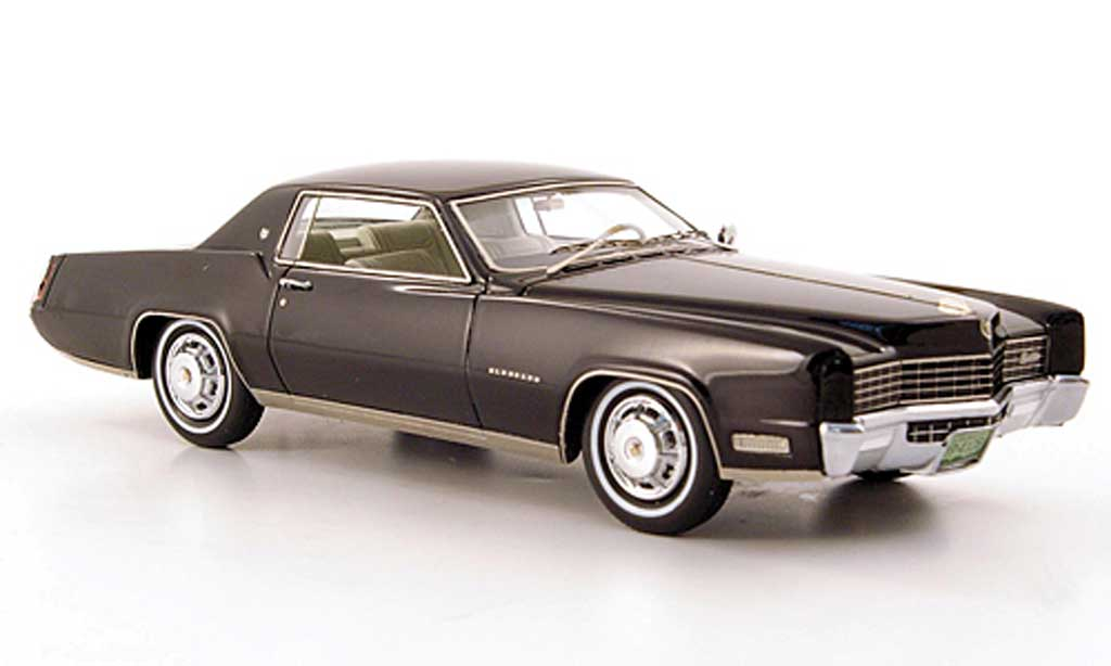cadillac eldorado 2 door coupe schwarz 1967 neo modellauto 1 43 kaufen verkauf modellauto. Black Bedroom Furniture Sets. Home Design Ideas