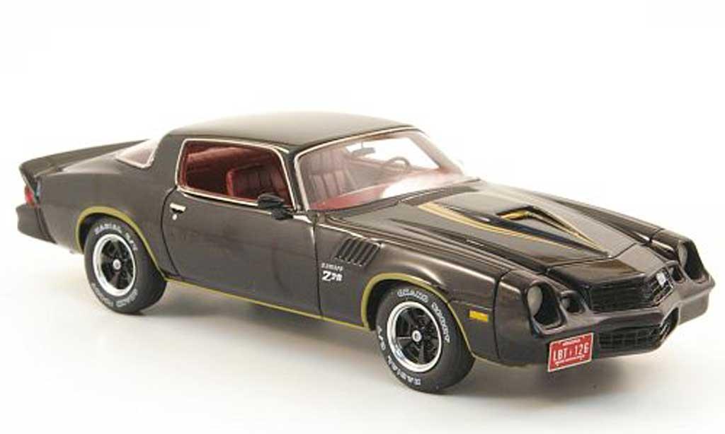 Chevrolet Camaro Z28 1/43 Neo Z 28 noire mit golden Streifen 1978 miniature